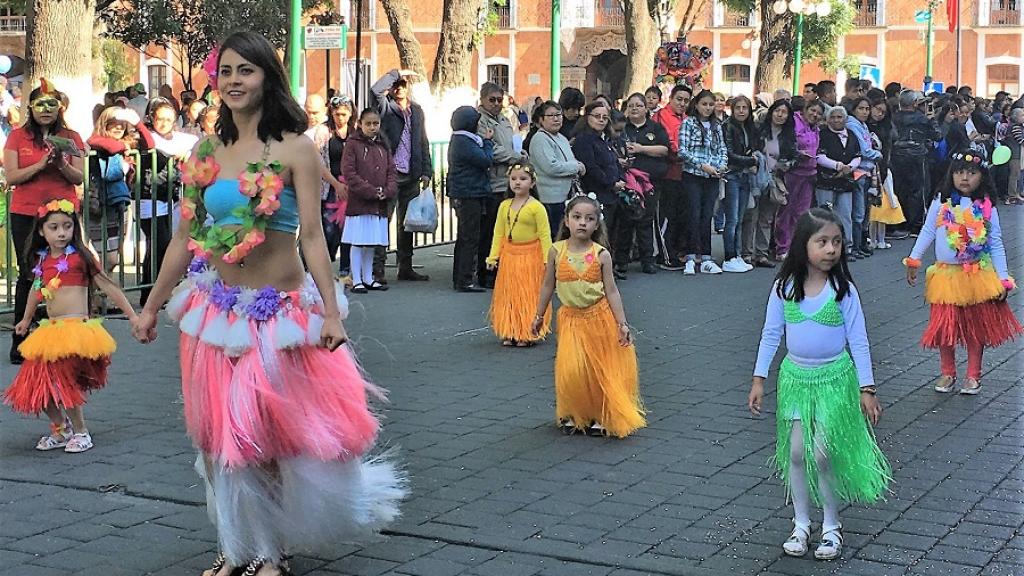 Fomenta SEPE identidad entre alumnos de preescolar con carnaval